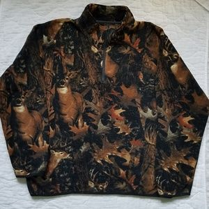 North River Outfitters Camouflage Pullover Jacket